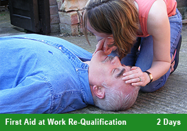 First Aid at Work Re Qualification